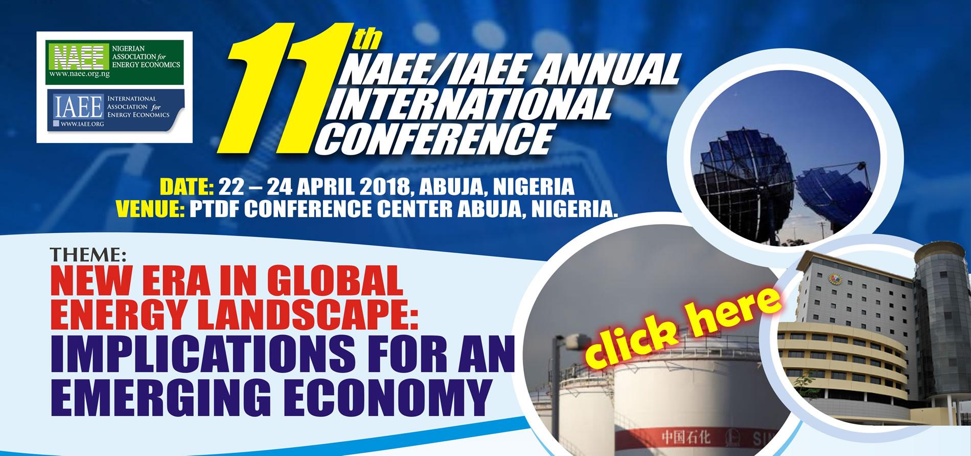 2018 NAEE/IAEE Conference