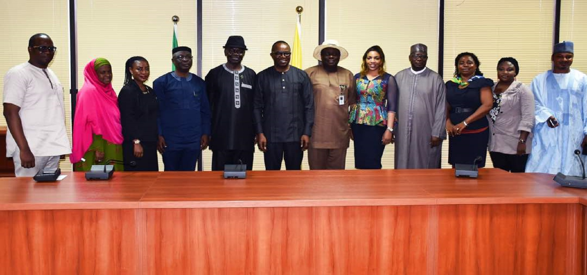 NAEE council with Minister of State Petroleum